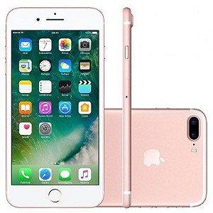 "iPhone 7 Plus 32GB Rosa Tela Retina HD 5,5"" 3D Touch Câmera Dupla de 12MP - Apple"