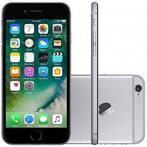 "iPhone 6 32GB Cinza Espacial Tela 4.7"" iOS 8 4G Câmera 8MP - Apple"