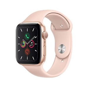 Apple Watch Serie 5 44mm GPS/Caixa de Alumínio Rose com Pulseira Esportiva Pink