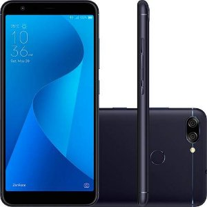 Asus Zenfone Max Plus Preto 1,5 GHz 32GB 4G Câmera 16 + 8MP (Dual Traseira)