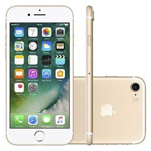 iPhone 7 32GB Dourado Tela Retina HD 4,7  12MP - Apple