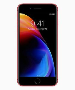 "iPhone 8 Plus Apple 64GB Vermelho 4G Tela 5,5"" - Retina Câmera 12MP iOS 11 Proc. Chip A11"
