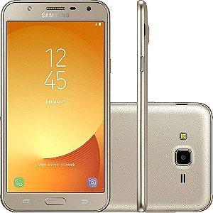 J7 Neo Dual Chip Android 7.0 Tela 5.5 16GB 4G Câmera 13MP - Dourado
