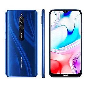 "Smartphone Xiaomi Redmi 8 64GB/4GB Tela 6.22"" 5000Mah Sapphire Blue"
