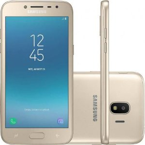Smartphone Samsung Galaxy J2 Pro Dual 7.1 5 16GB 8MP Dourado -