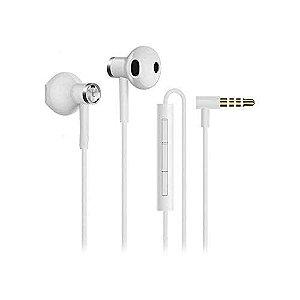 Fone de ouvido xiaomi modelo Iphone Dual drive earphones