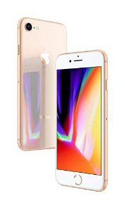 "IPhone 8 Dourado 64GB Tela 4.7"" IOS 11 4G Wi-Fi Câmera 12MP - Apple"