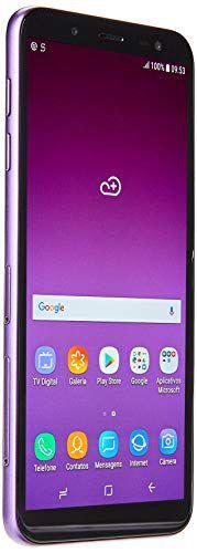 "Telefone Celular J600G Galaxy J6, Samsung, SM-J600GZPVZTO, 64 GB, 5.6"", Violeta"