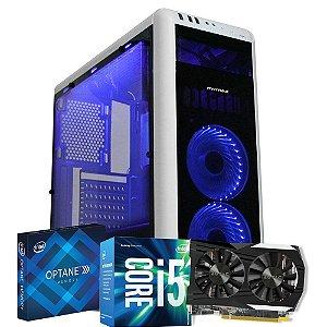 Computador Mega Gamer 2, Intel Core I5 7400, GeForce GTX 1050 2GB, 8GB DDR4, HD 1TB, 500W + INTEL OPTANE 16GB