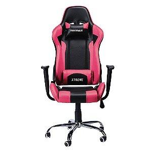 Cadeira Gamer Mymax MX7 Preto e Rosa