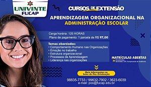 Aprendizagem Organizacional na Administração Escolar