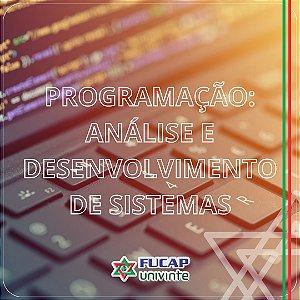Curso de Programação: Análise e Desenvolvimento de Sistemas