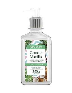 Loção Hidratante Coco e Vanilla 340g