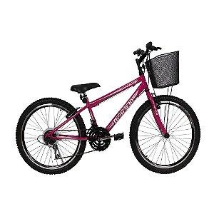 Bicicleta Winner Braciclo ARO 20 Feminina - 18 Marchas