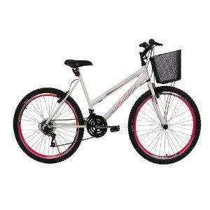 Bicicleta Winner MTB Braciclo ARO 26 18 Vel. Feminina