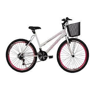 Bicicleta Winner MTB Braciclo ARO 26 Sem Marcha Feminina