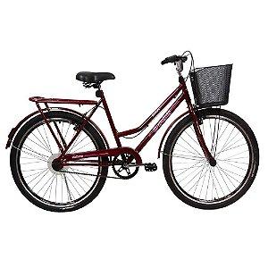 Bicicleta Solara Braciclo ARO 26 Feminina Freios V-Brake