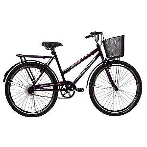 Bicicleta Bella Braciclo ARO 26 com Freio V-Brake Feminina