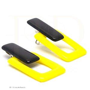 Acrílico  Quadrado Amarelo