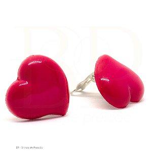 Acrílico  Coração Pink