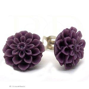Flores -   ROXO