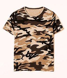 Camiseta Camuflado Deserto