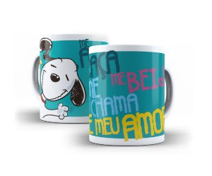 Caneca Snoopy Frases