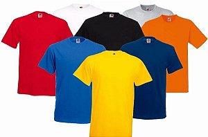 Camiseta Lisa Diversas Cores