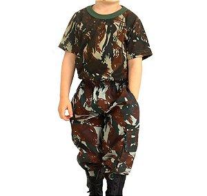 Conjunto Camuflado Militar Infantil