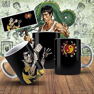 Caneca A Lenda Bruce-Lee