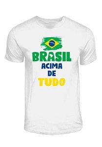 Camiseta Brasil Acima de Tudo, Deus Acima de Todos