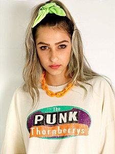 Camiseta Mastrobiso Boy Over Punk do Pântano Bege