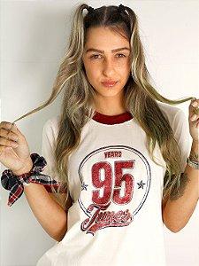Camiseta Mastrobiso College 95 Off White