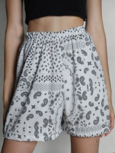 Shorts Flow Bandana Branco