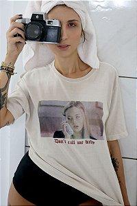 Camiseta Basic Don't Call Me Baby Estonada