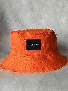 Bucket Hat Madalena Laranja
