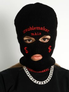 Balaclava Troublemaker Preta