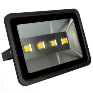 Refletor Holofote LED 200w Branco Frio 6000k Preto