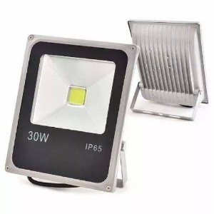 Refletor Holofote LED 30w Branco Quente 3000K