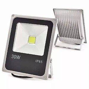 Refletor Holofote LED 30w Branco Frio 6000k