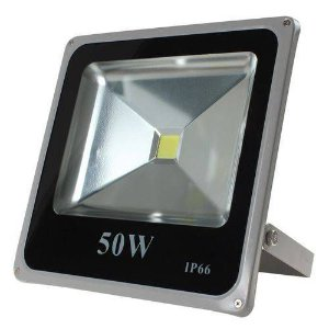 Refletor Holofote LED 50w Branco Quente 3000K