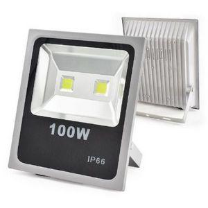 Refletor Holofote LED 100w Branco Quente 3000K