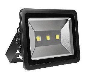 Refletor Holofote LED 150w Branco Frio 6000k Preto