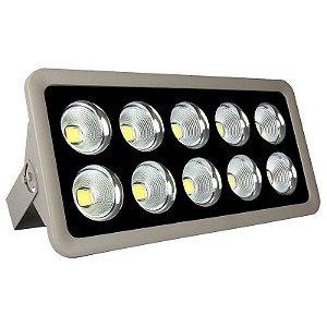 Refletor Holofote LED 500w Cob Branco Frio 6000k - Multifocal