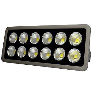 Refletor Holofote LED 600w Cob Branco Frio 6000k - Multifocal