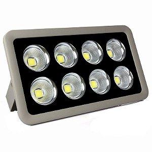 Refletor Holofote LED 400w Cob Branco Frio 6000k - Multifocal