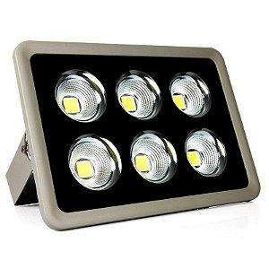 Refletor Holofote LED 300w Cob Branco Frio 6000k - Multifocal
