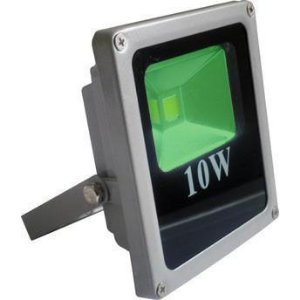 Refletor Holofote LED 10w Verde