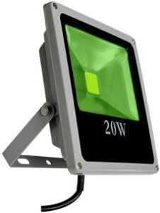 Refletor Holofote LED 20w Verde