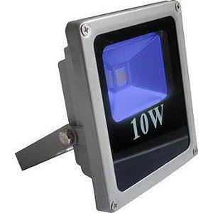 Refletor Holofote LED 10w Azul